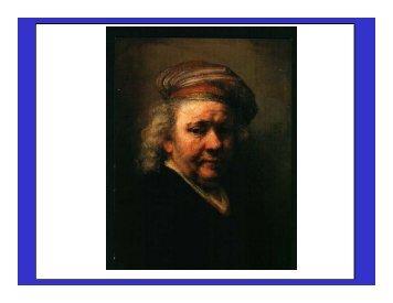 Rembrandt self-portrait - iscast