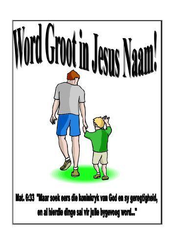 Word Groot in Jesus Naam! 2004 - Kanaan Ministries