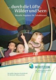 Broschuere Schulklassen.indd - Müritzeum