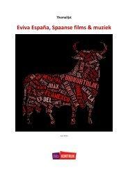 Eviva España, Spaanse films & muziek - Stad Kortrijk