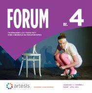 Forum 4, maart-april, jaargang 17 - Artesis Hogeschool Antwerpen
