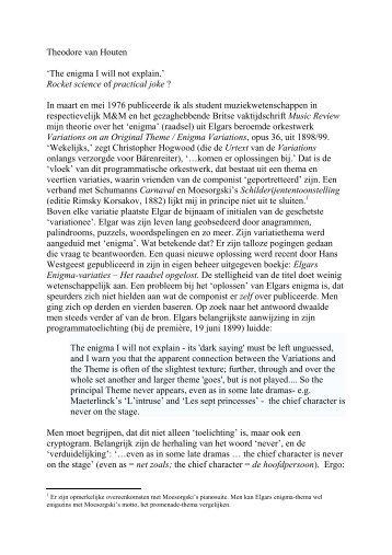 Aquacultuur in Nederland Een analyse van hoop en wanhoop Theodore Van Houten