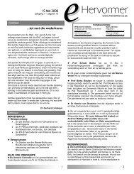 15 Mei 2008 - Drukweergawe (299 kb) - hervormer.co.za