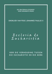DOU-Ensikliek-Ecclesia de Eucharistia.vp - Die Oratorium