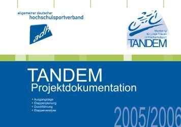 TANDEM - Allgemeiner Deutscher Hochschulsportverband