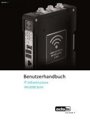 IWL3000 Benutzerhandbuch - ads-tec
