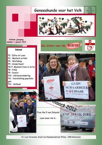 (Molenbeek) - maart 12 - Geneeskunde voor het Volk