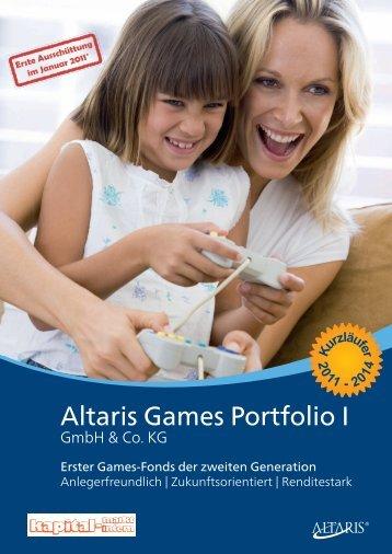 altaris Games Portfolio i - Abzieher Versicherungsmakler und ...