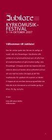 KYRKOMUSIK- FESTIVAL - Stockholms stift - Page 3