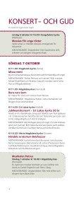 KYRKOMUSIK- FESTIVAL - Stockholms stift - Page 4