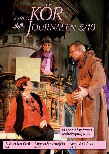 Nr 5/2010 - Sveriges Kyrkosångsförbund