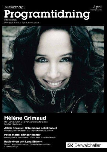 Programtidning April 2010 (pdf) - Sveriges Radio