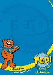 TEDi - Unternehmensdarstellung