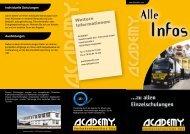 Alle_Einzelschulungen.pdf - ACADEMY Verkehrsinstitut Süd