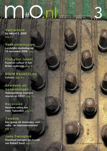 Find your talent Jada Swinglied Teleblik Voorwoord ...