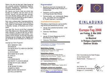 Veranstaltungs-Flyer als PDF - munaVeRo