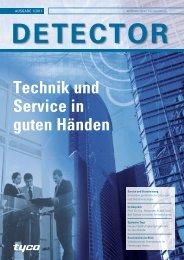 Detector Technik und Service in guten Händen - ADT