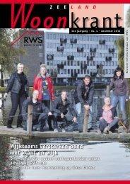 Zeeland Woonkrant december 2012 - RWS partner in wonen