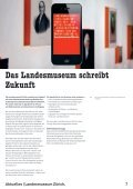 Kulturmagazin III|2012. Postmodernism. Landesmuseum Zürich ... - Seite 7