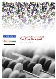 'Maatschappelijke business case Buurtzorg' (pdf) - Transitiepraktijk