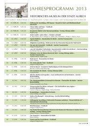 Unser Jahresprogramm 2013 als PDF-Datei - Historisches Museum ...
