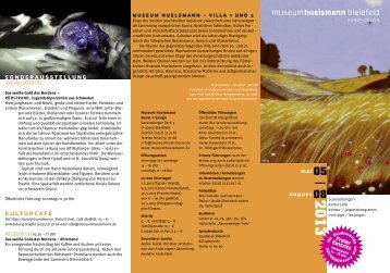 Huels; Viertel 5-8/2005 - Museum Huelsmann