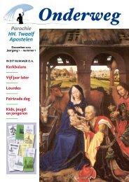 Onderweg nr. 1 - Parochie HH. Twaalf Apostelen