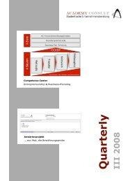 Externe Projekte - Academy Consult München e.V.