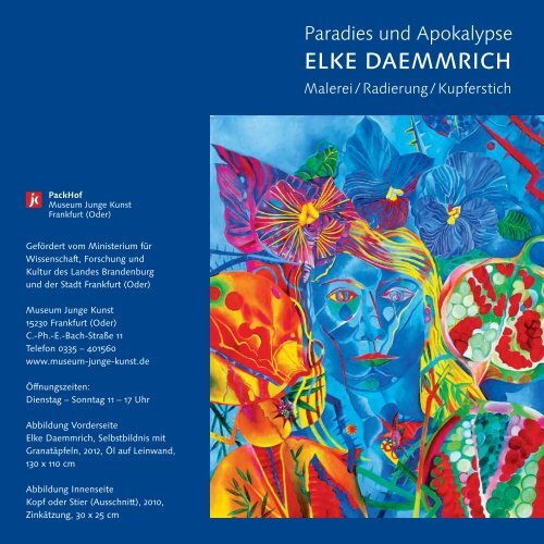 ElkE DaEmmrich - Museum Junge Kunst Frankfurt