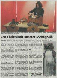 Bote vom Untermain, 16.11.2010 - Miltenberg, Museum der Stadt ...