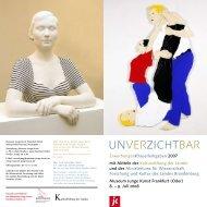 UNVERZICHTBAR - Museum Junge Kunst Frankfurt