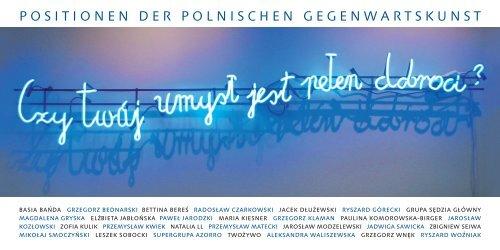 positionen der polnischen gegenwartskunst - Museum Junge Kunst ...