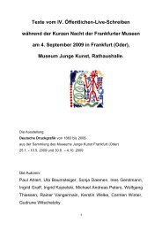 als pdf-Datei (86 KB) - Museum Junge Kunst Frankfurt