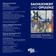 Ausstellungsflyer - Staatliches Museum Schwerin
