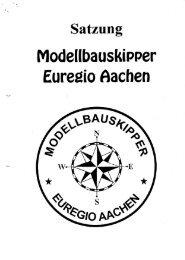 Satzung - Modellbauskipper Euregio Aachen