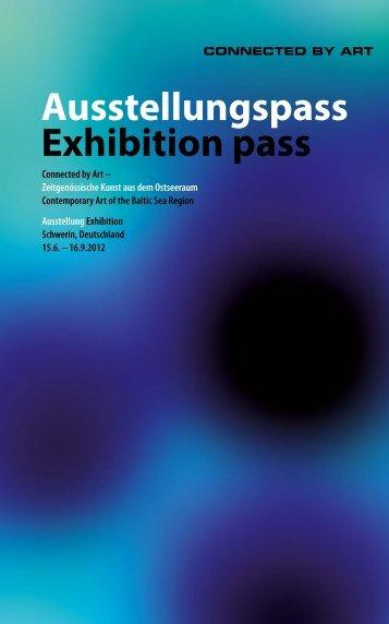 Ausstellungspass Exhibition pass - Staatliches Museum Schwerin