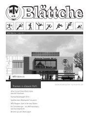 MTV Blättche April 2013 - Mombacher Turnverein 1861 eV