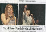 Vocal Hero Final TAH - Musikschule Holzminden e.V.