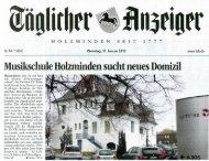 neues Domizil - Musikschule Holzminden e.V.