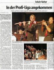 In der Profi-Liga angekommen - Musikschule Holzminden e.V.