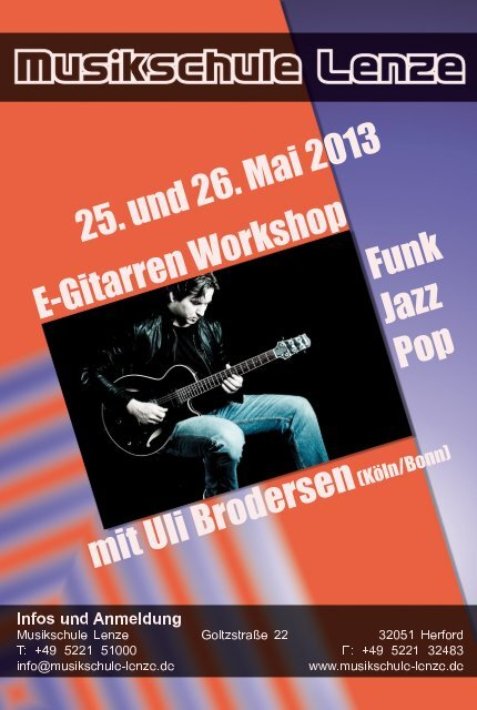 Download Flyer (pdf 2,4 MB) - Musikschule Lenze