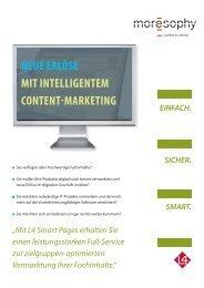 L4 Smart Pages - Neue Erlöse mit intelligentem ... - moresophy GmbH