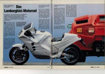 Lamborghini-Motorrad - MOTORRAD online
