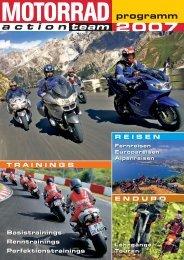Perfektions- und Renntrainings 2007 - MOTORRAD online