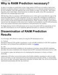 GPS RAIM Prediction for Approach Procedures via NOTAM and AFTN - Page 2