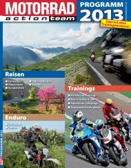 PDF-Download: MOTORRAD action team Programm 2013