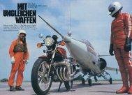 Mit ungleichen Waffen MRD Revue 1981 - MOTORRAD online