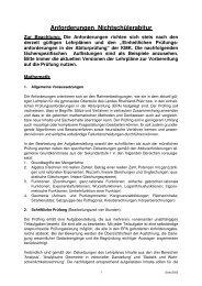 Anforderungen Nichtschülerabitur - MSG Landau