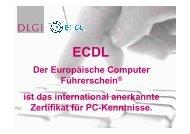 ECDL Core - MSG Landau