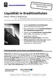 Liquidität in Kreditinstituten